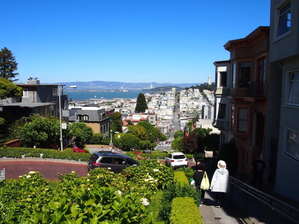 lombard street - strada famosa San Francisco